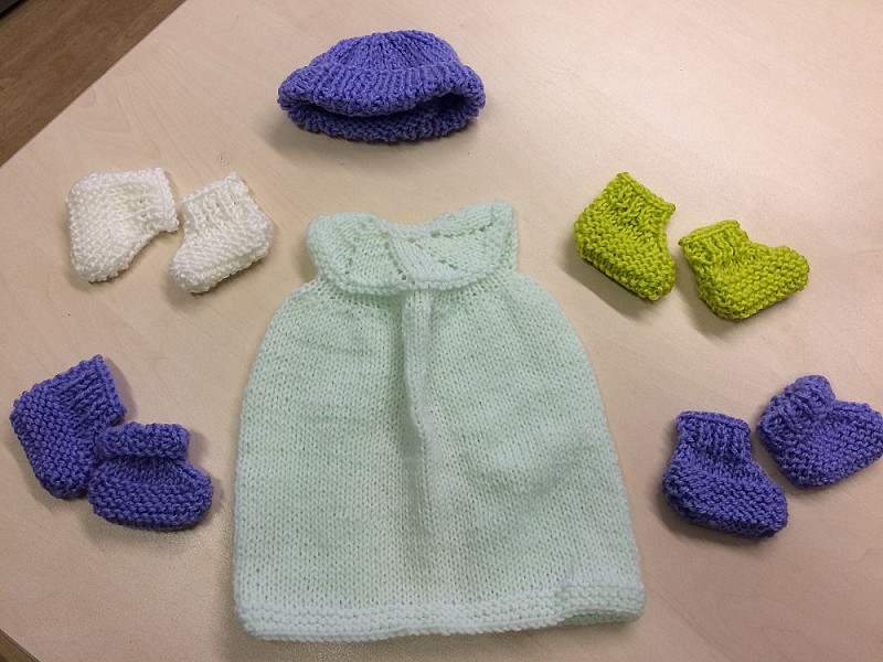 Full baby outfit for premature babies